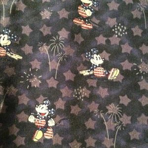 Mickey Mouse Scrub Shirt-Large